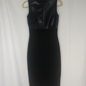 ASOS Bodycon little black dress, midi, Size 6.